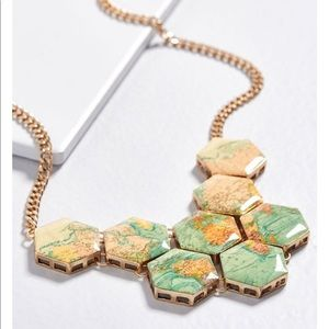 No place like Rome world necklace